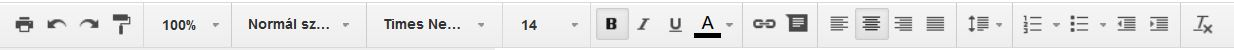 Google-Dokumentum-eszkoztar
