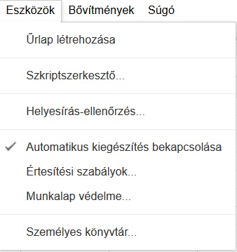 Google-Tablazat-Eszkozok