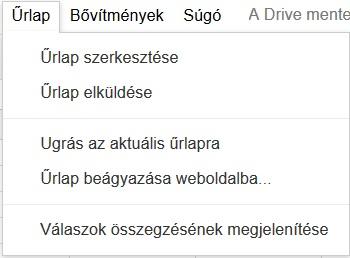 Google-Tablazat-Urlap