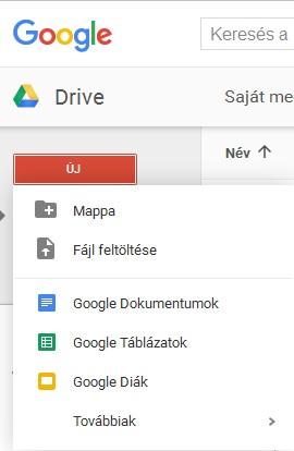 Google-uj-dokumentum